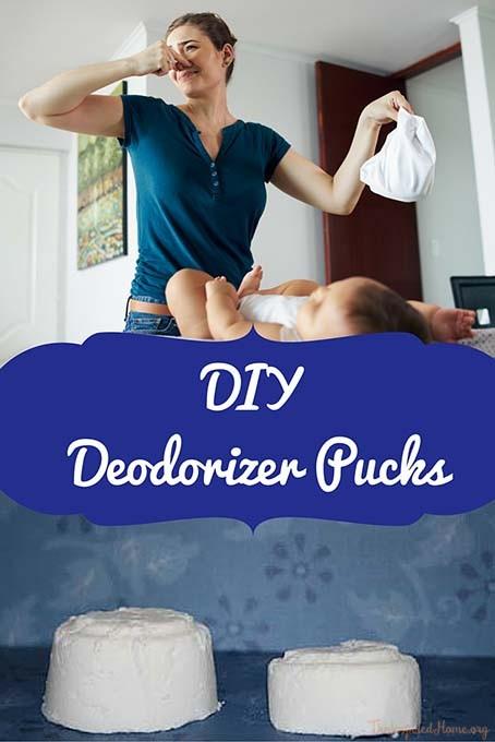 DIY Deodorizer Pucks