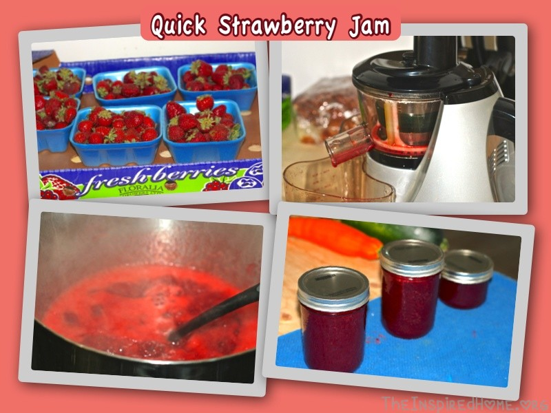 Quick Strawberry Jam