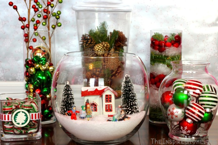 Large Vase Decoration Ideas: 6 Holiday Vase Fillers €� The Inspired Home