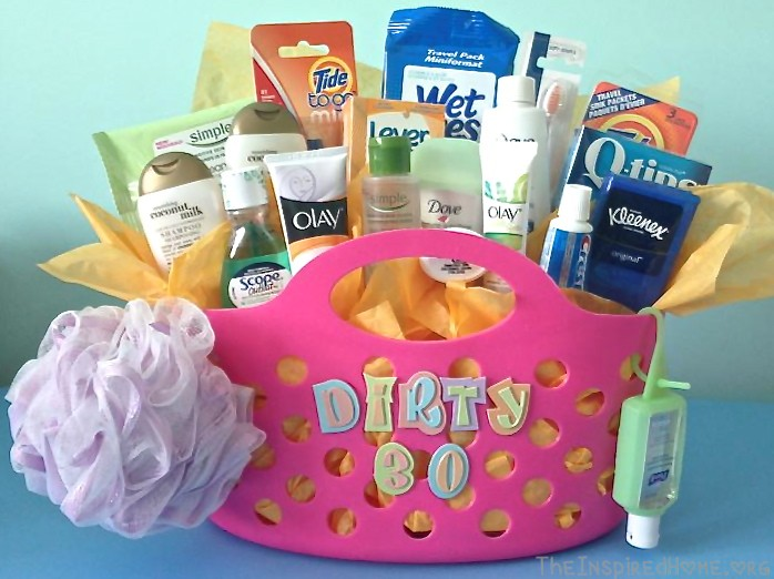Dirty Thirty Gift Basket