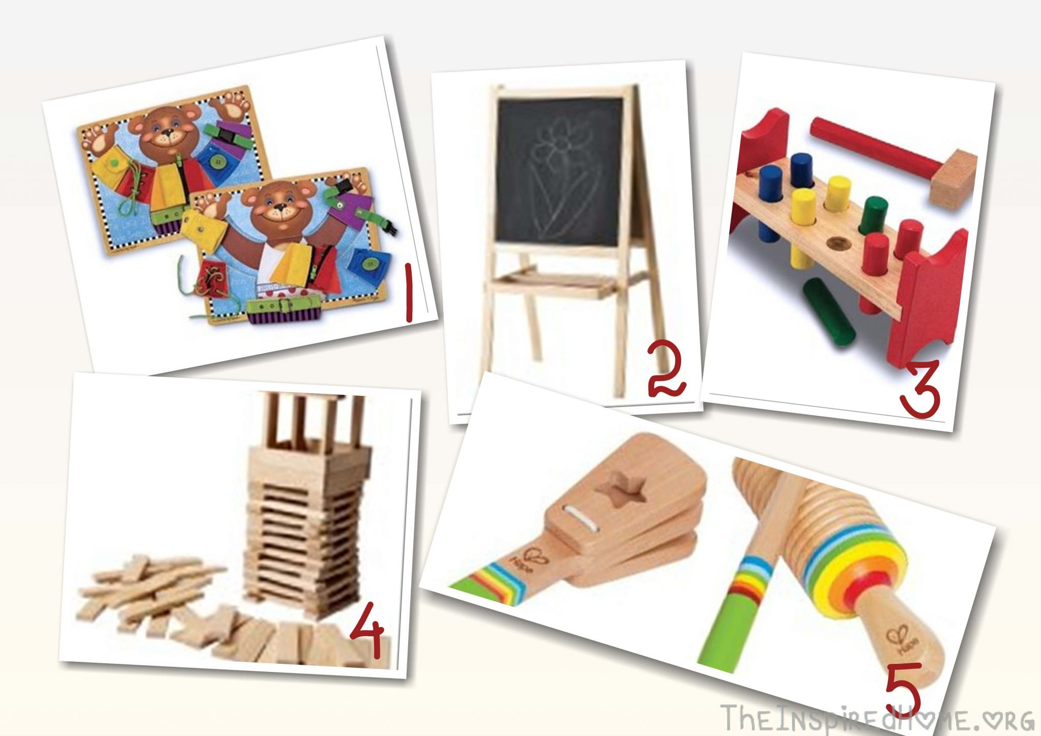 Educational Toys for Babies & Toddlers Cheap Gifts & DIY Gifts