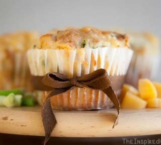 Scrumptious Saturday: Gluten Free Egg Free Muffins with Cheese and Ham