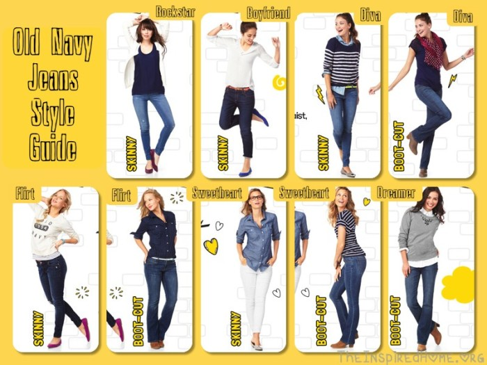 Review of the week old navy jeans the inspired home for Home style guide