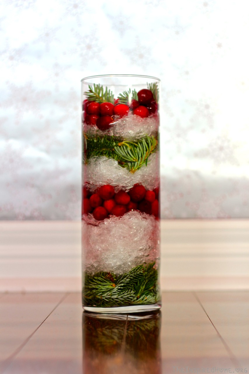 6 holiday vase fillers the inspired home for Artificial cranberries decoration