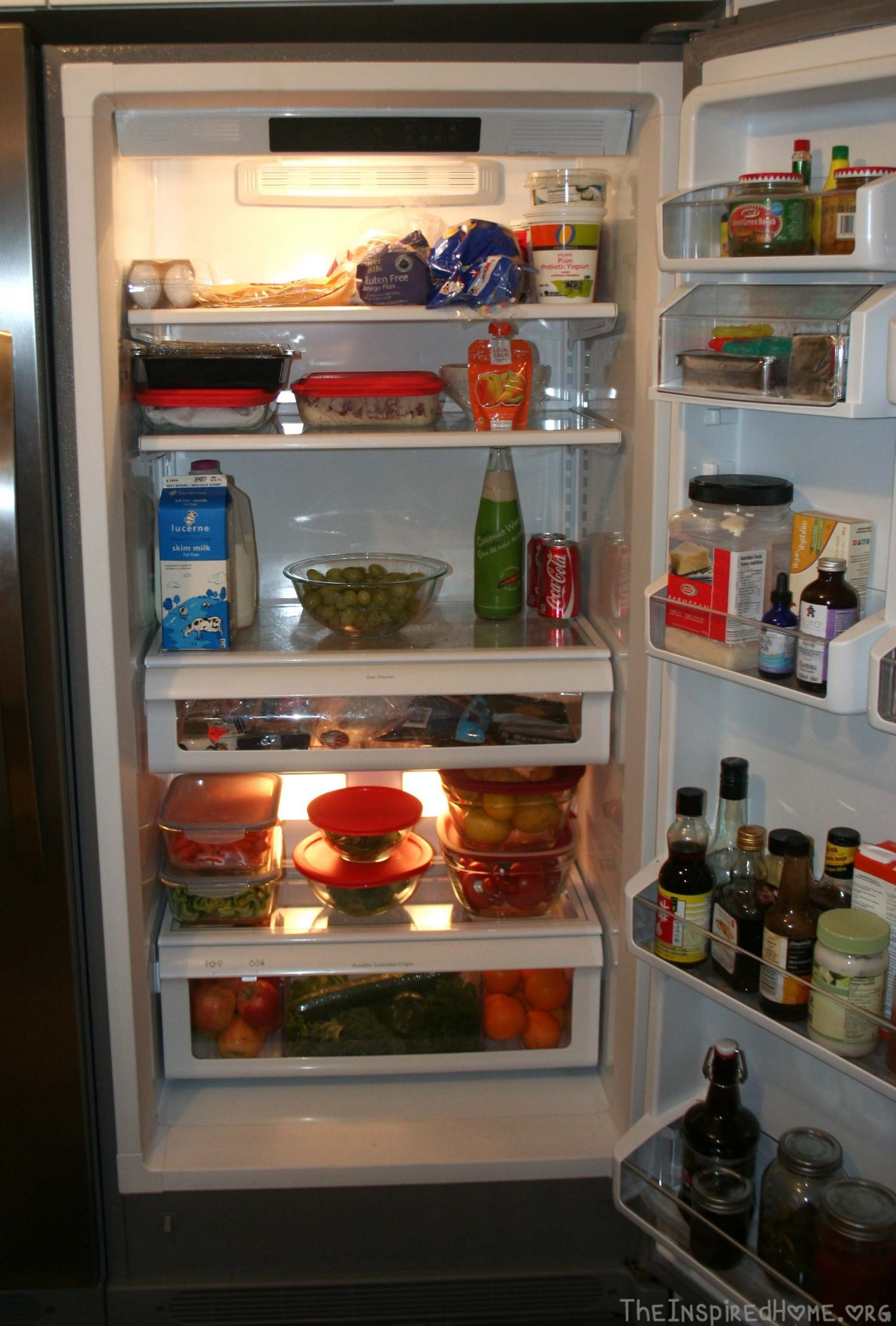 Fridge Organization The Inspired Home