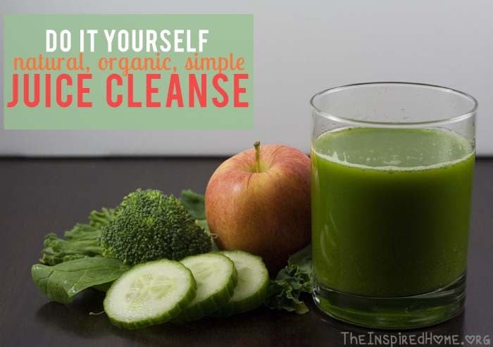 DIY Juice Cleanse - Natural, Organic, Simple by theinspiredhome.org