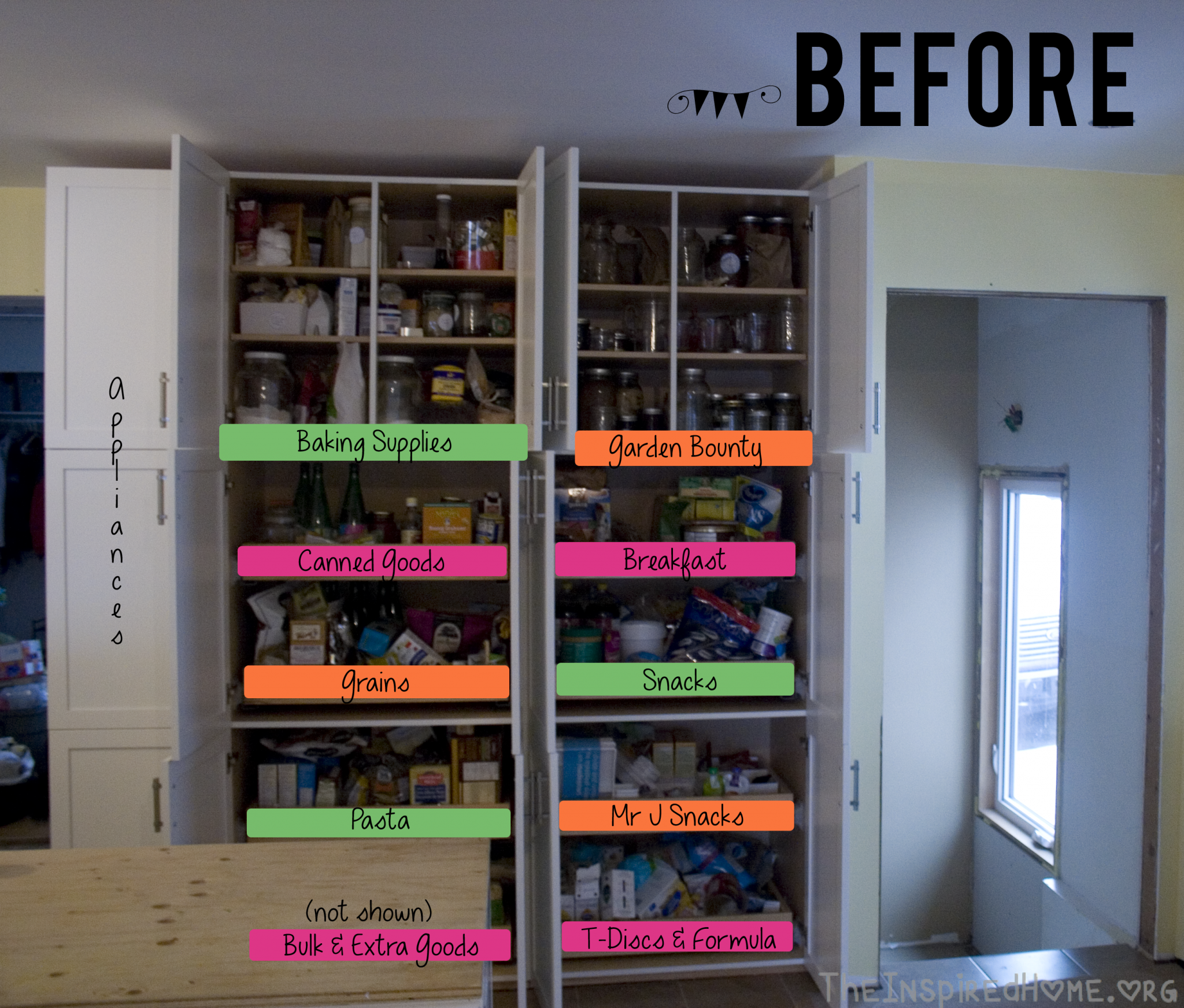 Effective Pantry Shelving Designs For Well Organized: Healthy Foods For Your Pantry & Pantry Organization • The