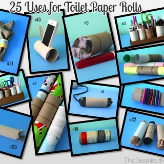 25 Uses for Toilet Paper Rolls