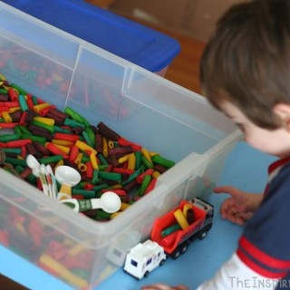 5 Activities to Compliment Your Pasta Sensory Bin