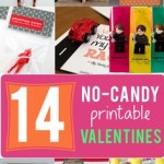 TheInspiredHome.org // Our curated collection of 14 No-Candy Printable Valentine Cards