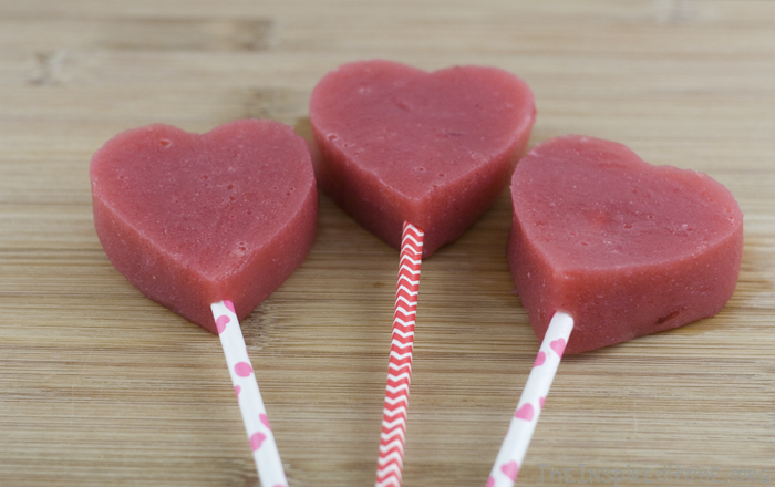 Healthy Valentines Day TreatsStrawberry HeartsThe Inspired Home
