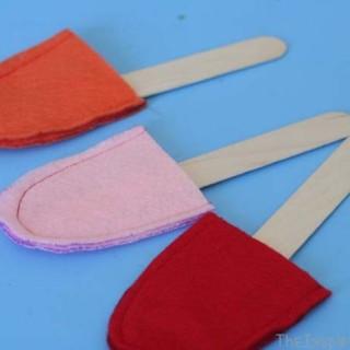 Felt Popsicles Colour Matching & 4 Bonus Activities