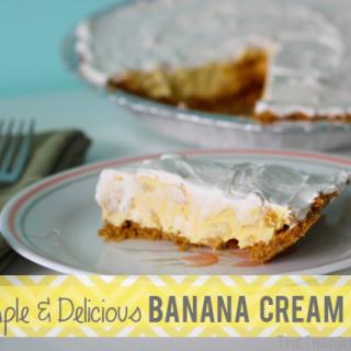 Simple Banana Cream Pie