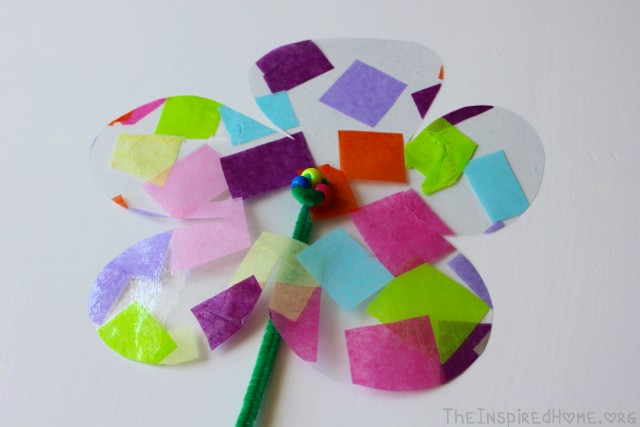 Paper flower crafts for toddlers funfndroid paper mightylinksfo