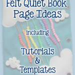 9 Quiet Book Page Ideas {Roundup}