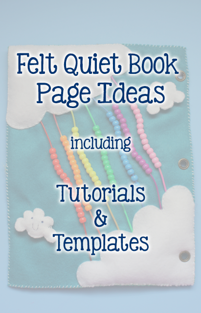 Looking for some fabulous ideas for your next felt quiet book page ...