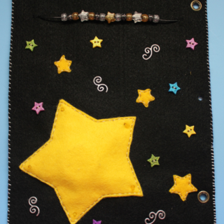 Quiet Book: Twinkle Twinkle Little Star Page {Tutorial}
