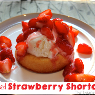 Simplified Strawberry Shortcake