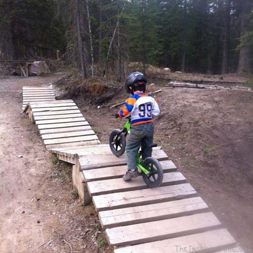 my mountain biker skills area