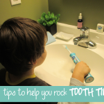 TheInspiredHome.org // 5 Ways to Rock the Brushing Teeth Routine #sonicaresmiles