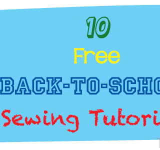Back to School Sewing Tutorials {Roundup}