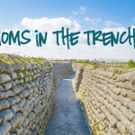 TheInspiredHome.org // Moms in the Trenches. Struggling to cope with small children and life? Then you're in the trenches.