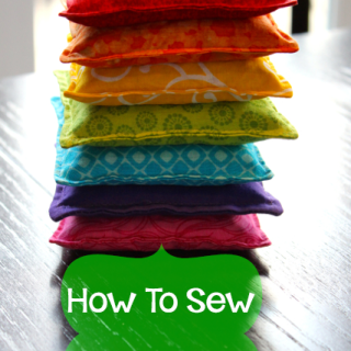 How to Sew Bean Bags for Kids