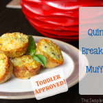 TheInspiredHome.org // Mini Ham & Cheese Quinoa Breakfast Muffins - fantastic toddler food!