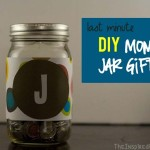 TheInspiredHome.org // Last Minute Gifts, DIY Money Jar