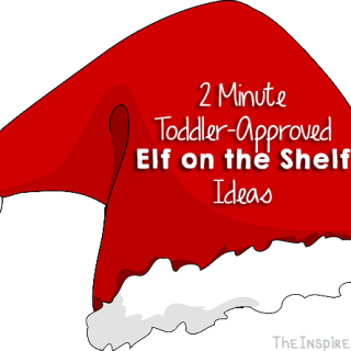 2 Minute Toddler-Approved Elf on the Shelf Ideas {Round 3}