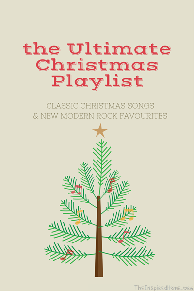 the Ultimate Christmas Playlist • The Inspired Home