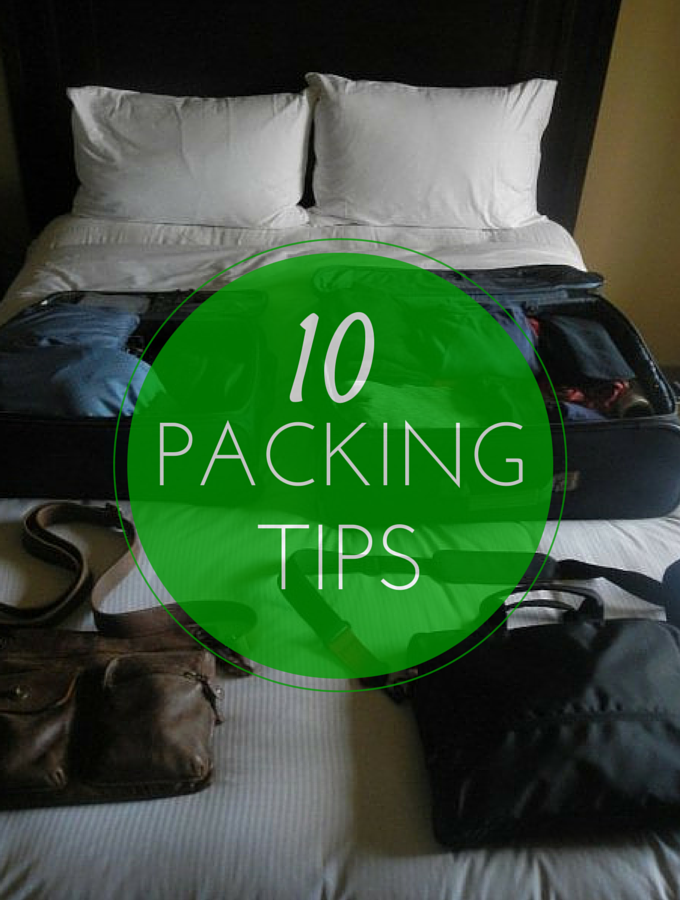TheInspiredHome.org // Don't know what to pack? Always end up with too much in your suitcase? Our 10 Packing Tips for your next Flight will sort you out.