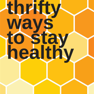 4 Thrifty Ways to Stay Healthy + FREE Printable {Giveaway}