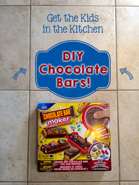 TheInspiredHome.org // Get your Kids in the Kitchen with DIY Chocolate Bars!