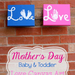 Mother's Day Love Canvas {Tutorial}