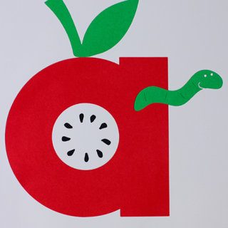Alphabet Craft – A is for Apple