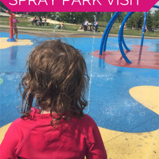 Mini-Adventure: Spontaneous Spray Park Visit