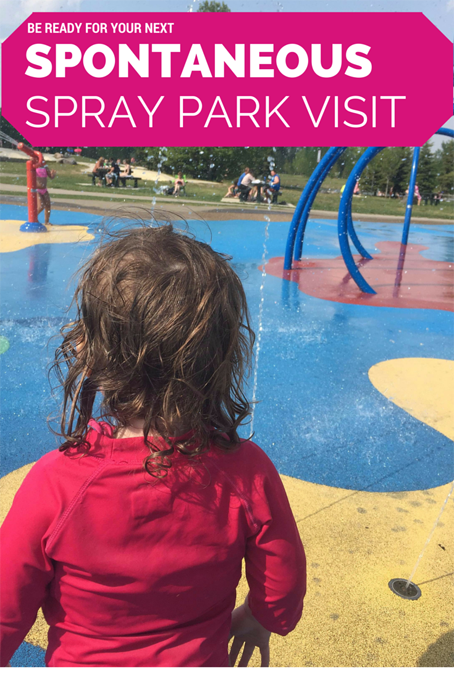 Mini Adventure Spontaneous Spray Park Visit