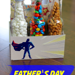TheInspiredHome.org // Father's Day 6-Pack Gift Idea. This adorable 6-pack of snacks is the perfect gift for any dad this Father's Day instead of the traditional beer 6-pack.