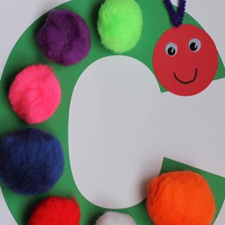 Alphabet Craft – C is for Caterpillar