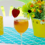 TheInspiredHome.org // Peachy White Wine Sangria
