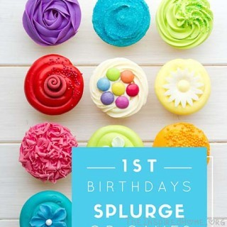 1st Birthday Party: Save or Splurge?