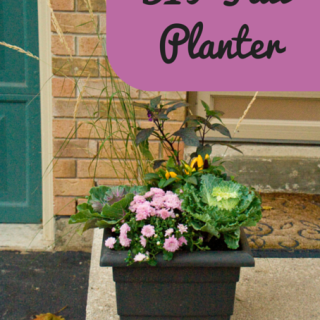 DIY Fall Planter