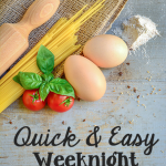 TheInspiredHome.org // Quick & Easy Weeknight Dinners {Roundup}