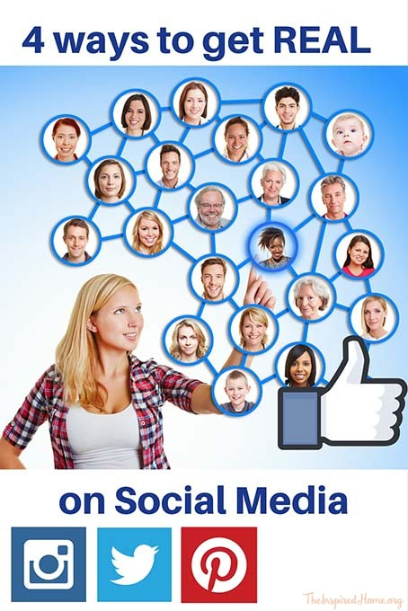4 Ways to Get REAL on Social Media