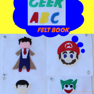 DIY Geek ABC Felt Quiet Book