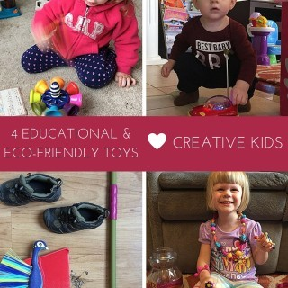 4 Eco-Friendly, Educational Toys for Creative Kids