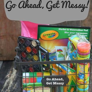 Family Gift: Go Ahead, Get Messy!