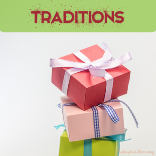 Holiday Traditions {Giveaway}