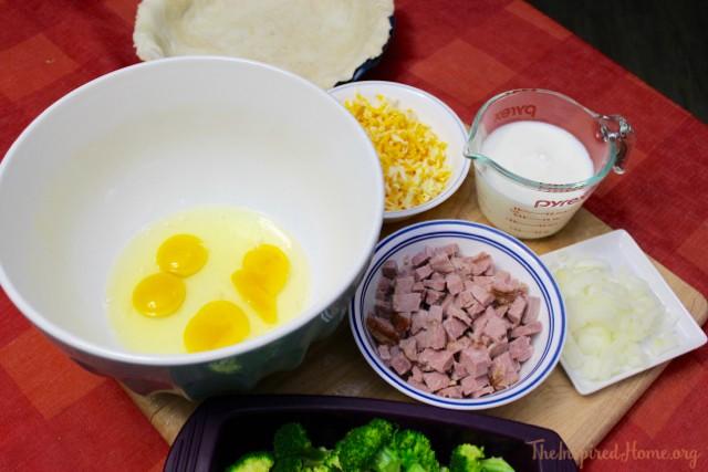 ham broccoli quiche 2